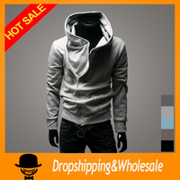 Free Shipping 2014 New Hot High Collar Men's Jackets ,Men Sweatshirt ,Hoodies Clothes,cotton outerwear wholesale  X-317