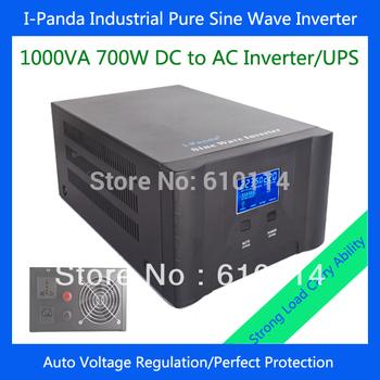 I-P-XD-1000VA 700W inverter battery charger  solar panel power inverter pure sine wave auto voltage regulation AVR