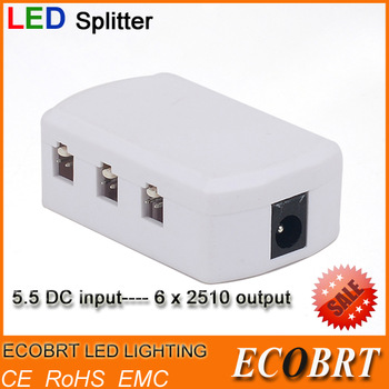 ECOBRT-12V led accessories Items  LED Connectors/ Splitters for 12v led puck light/ Under cabinet/showcase/bedroom