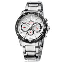 eyki men watch free shipping original Japan movement fashion wrist watch 2012 new design NO.8605 3pcs/lot