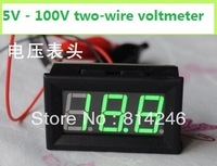 Best  price, Ultra-wide range of digital digital voltmeter 5-100V