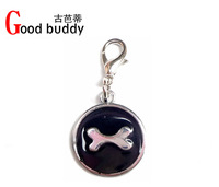 christmas item! Free shipping(100pcs mix colors) fashion bone pendant,dog charm,pet accessories,cat pendant 5colors for choice