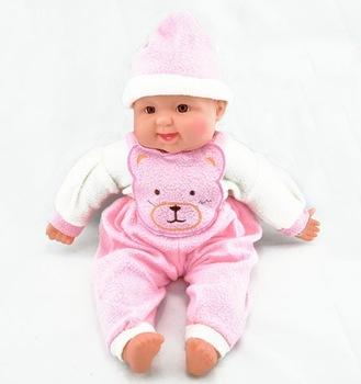 New Arrival Electronic Baby Doll, Simulation Baby Laugh Baby, Laughing Doll Free Shipping