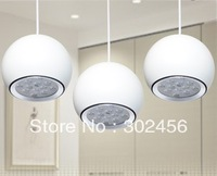 free shipping 3pcs/lot 12W LED hanging line light /pendant lamp, 1W*12 led Pendant Lights