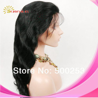 Sunnymay  Body Wave Indian Remy Human Hair lace Front Wigs In Stock