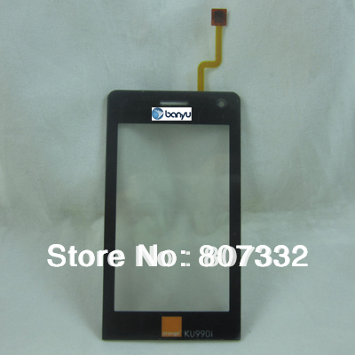 For LG KU990 frony glass lens well working 100% New And Tested Free Shipping(China (Mainland))