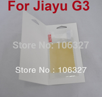 Freeshipping New 100% Original JIAYU G3 G3S Screen Protector Guard Cover Film For jiayu G3 G3s in stock!