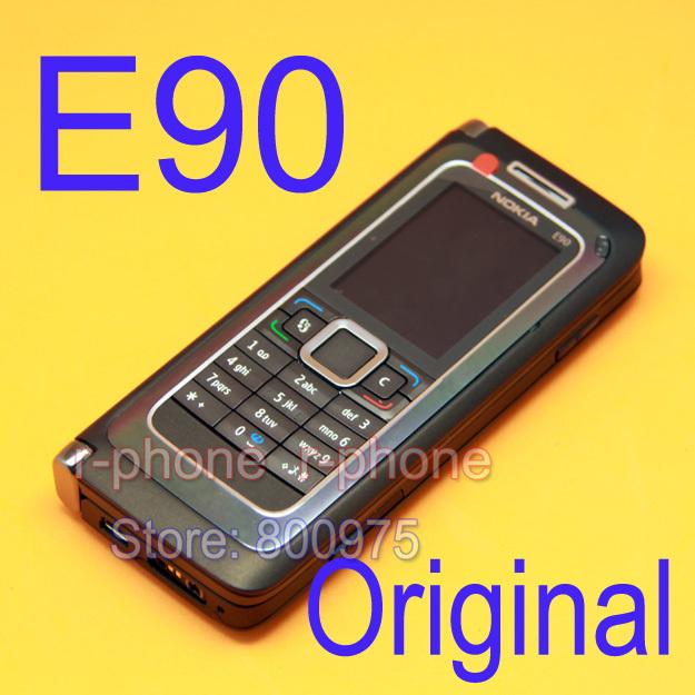 Original NOKIA E90 Mobile Cell Phone 3G GPS Wifi 3.2MP Bluetooth Smartphone(China (Mainland))