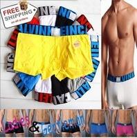 Free Shipping 2014 HOT Sale Modal brand name mens boxer, men's underwear ,X style 5pcs/lot