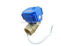 "motorized ball valve DN20, 3/4"" (reduce port) , electrical valve, 2 way motorized valve"