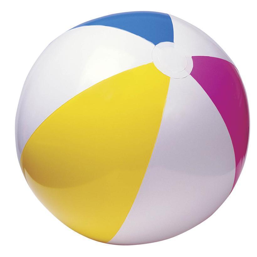 Intex 60 cm ballon de plage 59030 boule transparente - Boule gonflable transparente ...