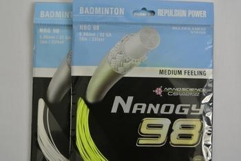 Wholesale Medium feeling   NBG 98  YY  badminton string   free  shipping