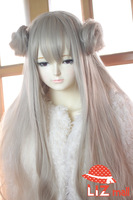 Light Golden Blonde Sailer Moon Wavy Heat Friendly Lace Hair Cosplay Animation Party Wig
