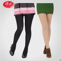 2014 Brand Langsha Lady sexy fashion velvet pantyhose 50D 80D 120D Plus size Tights silk stockings Semipermeable pantyhose