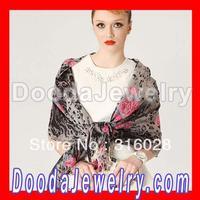 Free Shipping Cashmere Wool Leopard Scarf Tassel Pashmina Shawl Stole Wholesale