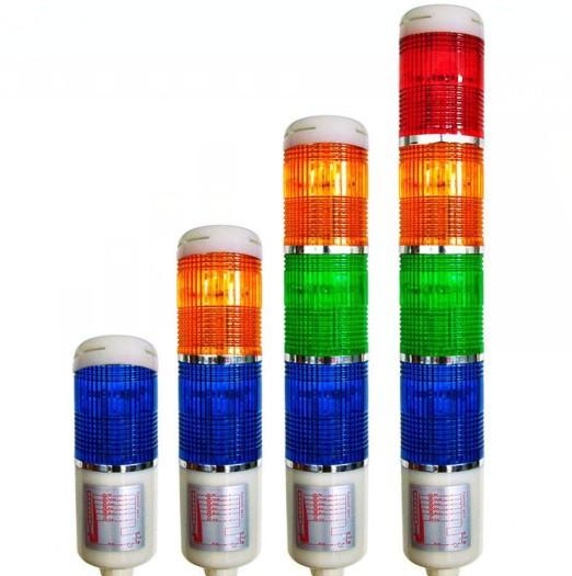 Ys livraison gratuite gros prix dc12/24v lta205industriel.indicateur de cinq étages régulièreprix tour signal voyant cinq couleurs