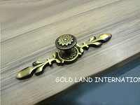 L115mm Free shipping pure copper furniture drawer handle