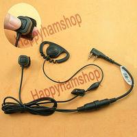 Ear hook Headset for Kenwood 2 way radio TK-208 TK-220 TK-240 TK-3107 TK-3207 TK-372G