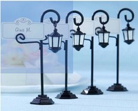 Lamp Design Wedding Party Table Centerpiece, Place Card Holder,free shipping  100pcs