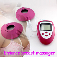 Women Health Care Grow Bigger Breast Massage Enlargement Enhancer Cup Size Slimming Body Pulse Vibrating Massager Machine