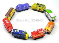 Free shipping 5pcs/lot mix order, Chuggington Trains boys brinquedos cars