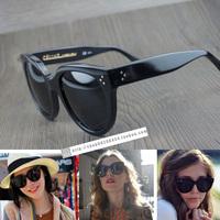 new arrive 2013 wholesale  retail  women plastic  sunglasses -- original designer sunglasses  Audrey S  C 41755  free shipping