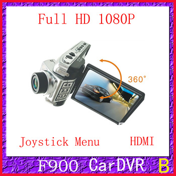 F900LHD(H-04A.1) with 1080P 2.5' Screen with rocker Wide Angle 130 Degree Car cam
