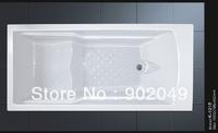 Rectangle Common Bathtub K-1215 White Acrylic Cheap Bathtub Price 1 Person Hot Tub Sanitary Ware
