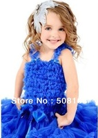 New Year Baby girl costumes Children Petti skirt girls princess dress chiffon skirt Tutu skirt set ra-ra shirt a set= top+skirt