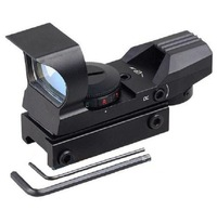 2013 new style Red and Green Dot Reflex Sight peaked head tubeless 33mm Metal Tactical 4-Reticle Sunshade