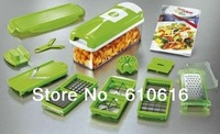 New Nicer Dicer Plus 10-piece Multi Vegetable Chopper/Fruit Slicer