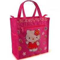 Promotion handbag Hello kitty waterproof hand bag Large lunch bag Canvas outdoor bag Women's handbag Cute shopping bag