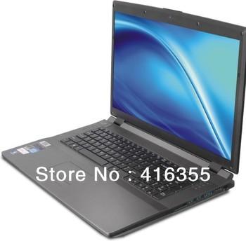 17.3inch Laptop Computer Core Quad I7 3630QM 2.4GHz 8G DDR3 SSD+HDD(60GB+1TB) Sales Promotion nVidia GTX560M 2GB Vedio Memory