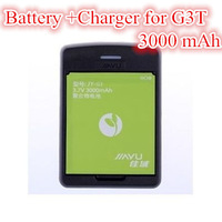 100% Original Seat Charger+Battery for JIAYU G3/G3T/G3S Smartphone