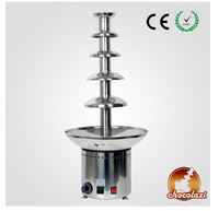 2013 CHOCOLAZI ANT-8086 Auger 5 tiers 304 stainless steel commercial cheap chocolate fountain (ANT-8086)