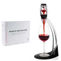 Free shipping+wholesale+10pcs,Wine Decanter,Red Wine Aerator,Silicon rubber material,Wine Essential Equipment