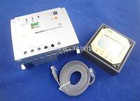 MPPT 20A, 12/24v Solar Regulator with remote meter, solar charge controller