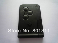 car key renault Megane  3 button Remote key & auto key Megane remote card ,free shipping fee