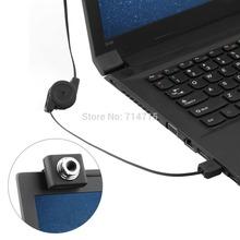 Mini 5M USB retráctil Webcam Cámara Web Clip Portátil 100 % a estrenar(China (Mainland))