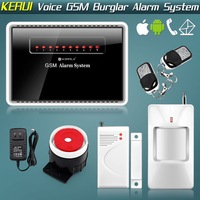 Free Shipping! New Intelligent mobile version of wireless GSM voice alarm system infrared alarm household devices