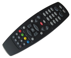 Black remote controller for DM 800HD 800SE 500hd Satellite receiver Free Shipping(China (Mainland))