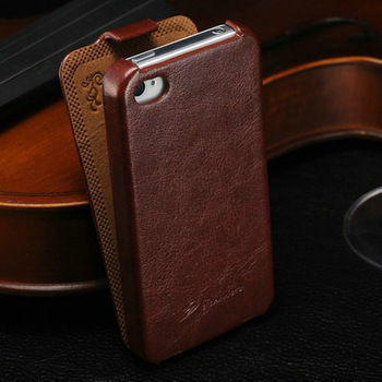 2013 hot Luxuxy crazy horse leather flip case for apple iphone5 5g cell phone cover for iphone4 4s Hongkong free shipping new