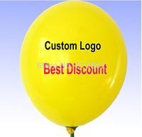 Custom Logo printed Advertising balloons Latex promotion balloons 1.5g balloons / Many colors balloon for choice