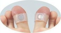 Guaranteed 100% New Original Magnetic Silicon Foot Massage Toe Ring Weight Loss Slimming Easy Healthy freeshipping