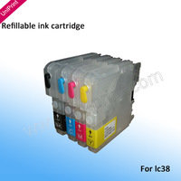 for Brother LC11 LC16 LC38 LC61 LC65 refillable ink cartridge   DCP-165C,DCP-375CW,DCP-385C,DCP-585CW