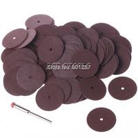 100Pcs 25mm Cut Off Wheel Dental Metalworking Dremel Accessories For Rotary Tools