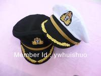 Free shipping men Navy performances cap cotton captain cap Romania naval hat seafarers hat sailor military caps hat embroidery