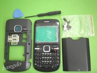 MOBILE PHONE BLACK HOUSING COVER FASCIA +KP TOOL FOR NOKIA C3