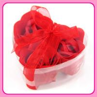 3 rose flower soap gift birthday gift wedding supplies Christmas decoration