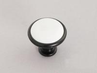 10Pcs Ceramic  Porcelain Ceramic Drawer Pull Handle Hardware Knob (Diameter:33mm)